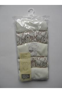 Smėlinukų trumpomis rankovėmis rinkinys x 5 (0-1 mėn.)